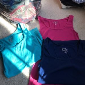 Lot of three Perfect Tanks from old navy